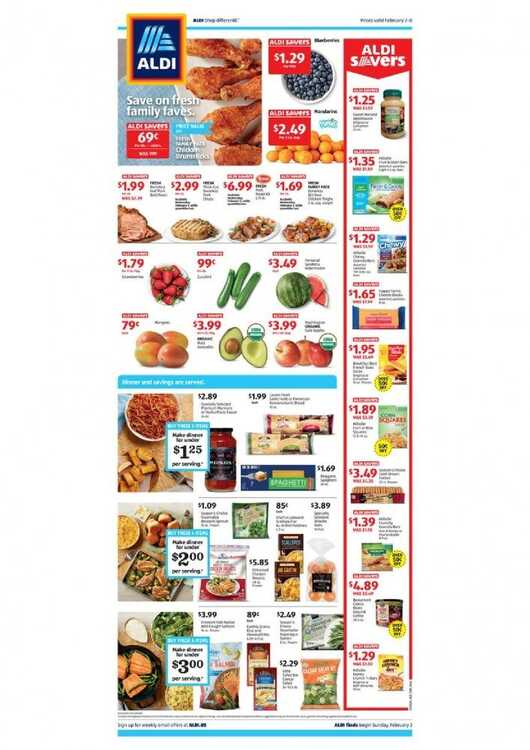 Offers Aldi Weekly Valid From 2 2 2020 Until 8 2 2020