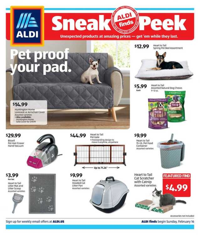 Offers Aldi Weekly Valid From 16 2 2020 Until 22 2 2020