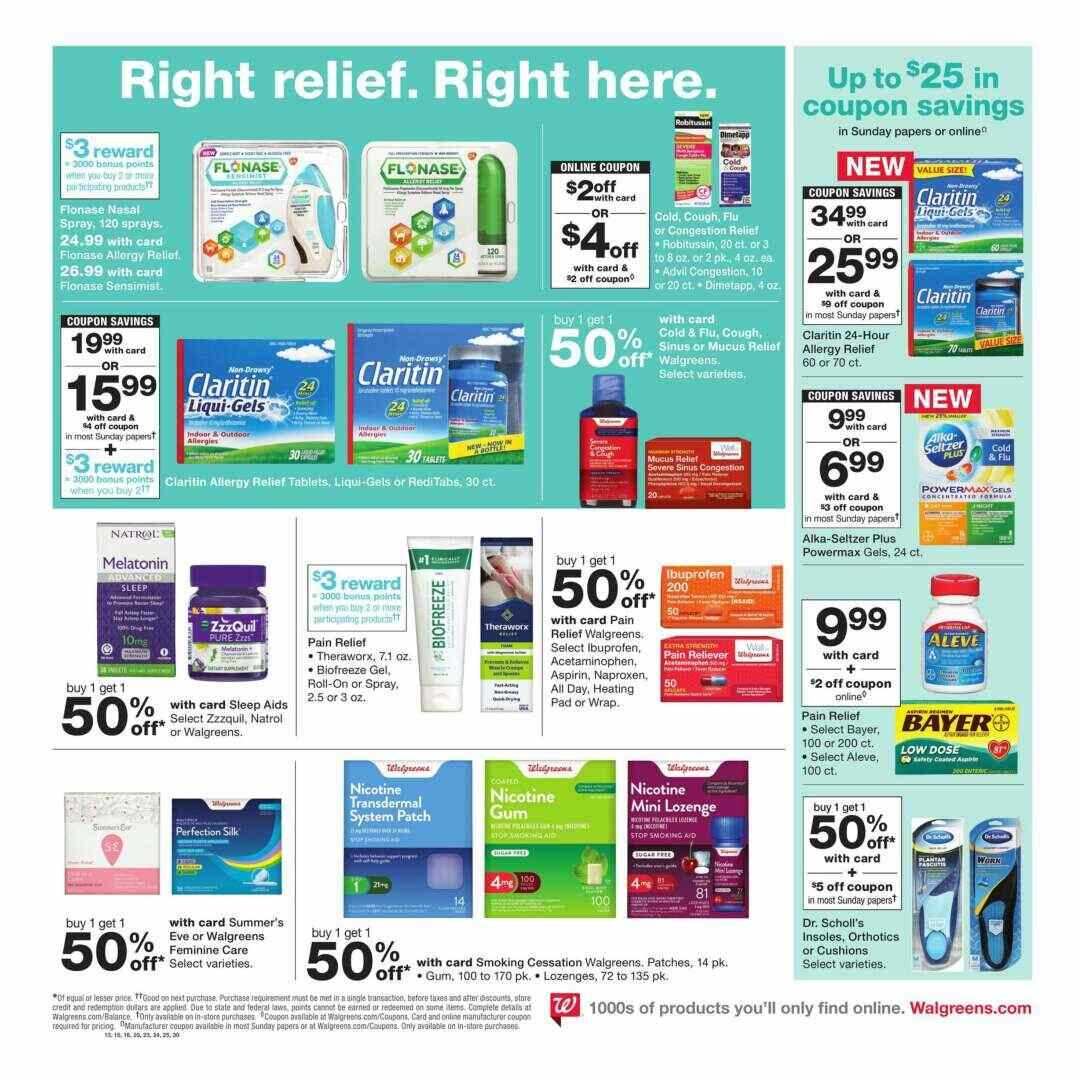 Offers Walgreens Weekly Valid From 14 10 2018 Until 20 10 2018